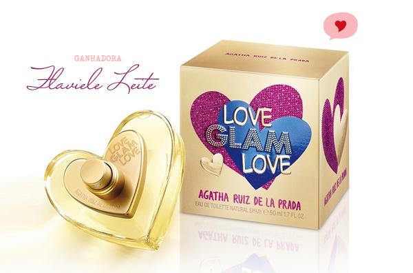 ganhadora do sorteio Love Glam Love