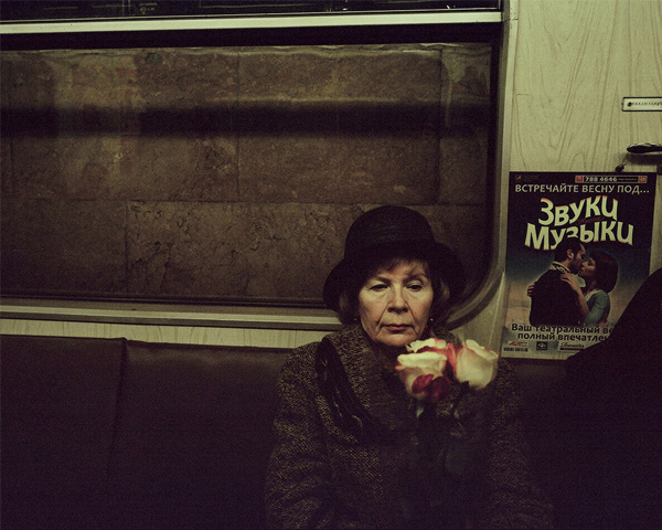 Moscow Metro, by Tomer Ifrah