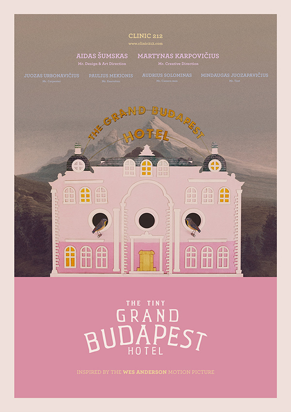 The Tiny Grand Budapest Hotel