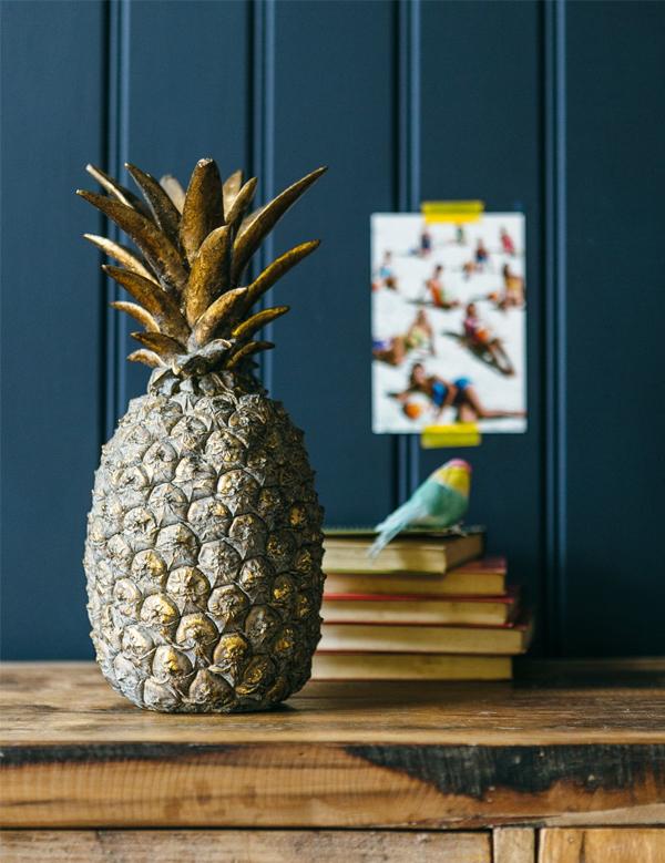 Rose & Grey - Golden Pineapple