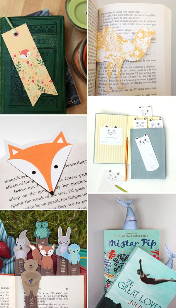 Internet Love: marcadores de livro de animais