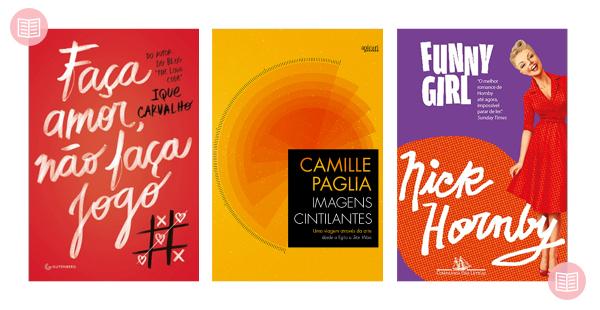 Os três últimos livros: Faça Amor, Não Faça Jogo + Imagens Cintilantes + Funny Girl