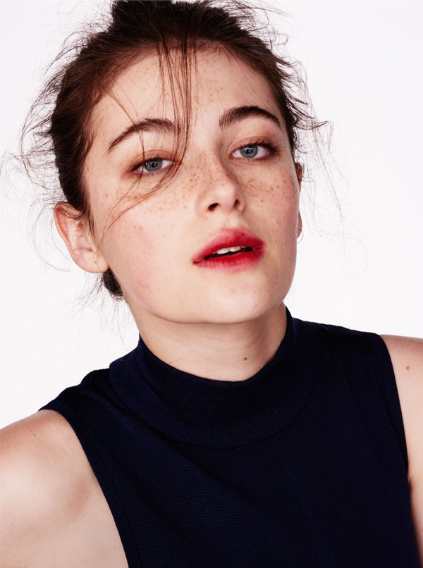 Millie Brady for InStyle UK