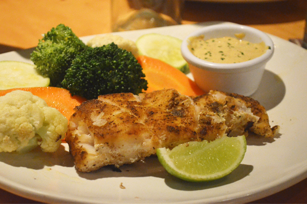 Outback Steakhouse - Fish of the Day