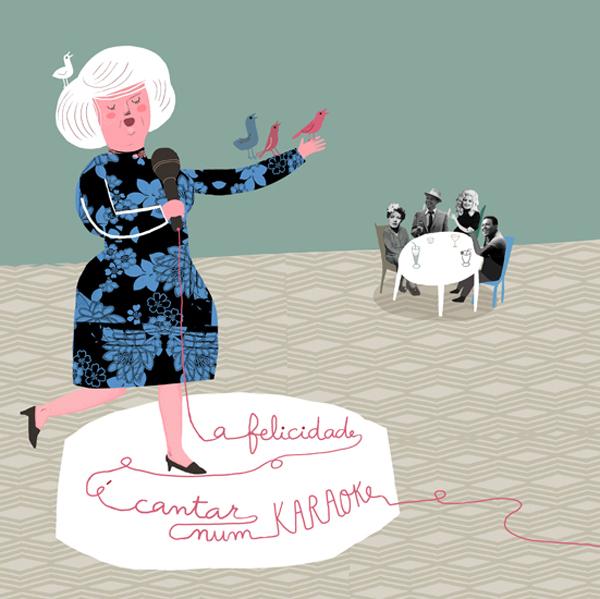Karaoke, por Madalena Matoso