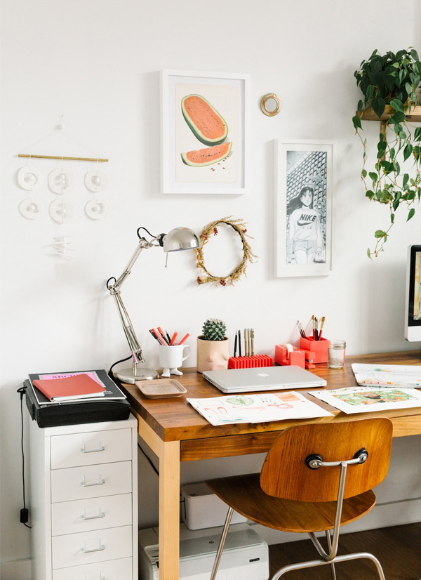 Espaços criativos: Meghann Stephenson