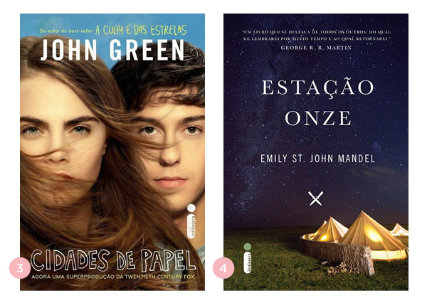 Os quatro últimos livros: Cidades de Papel + Estação Onze