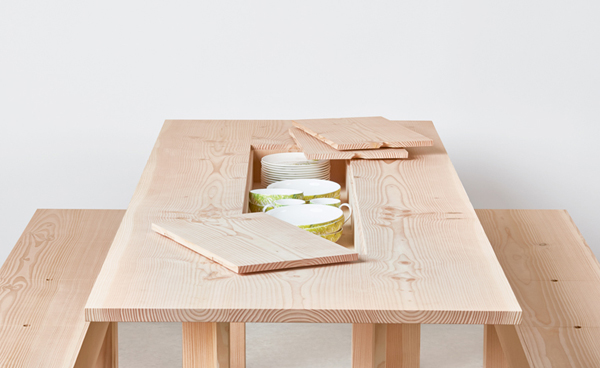 Planks dining table