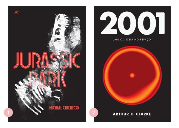 Os quatro últimos livros: Jurassic Park + 2001: Uma Odisséia no Espaço ∴ BLOG Não Me Mande Flores