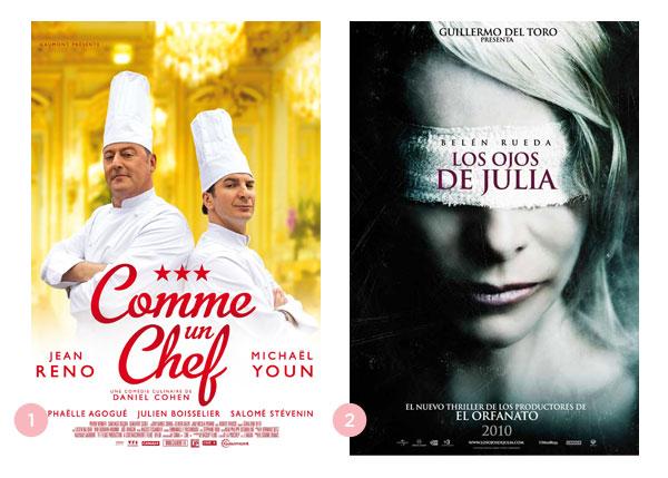 Os quatro últimos filmes: Comme un chef + Los ojos de Julia | BLOG Não Me Mande Flores
