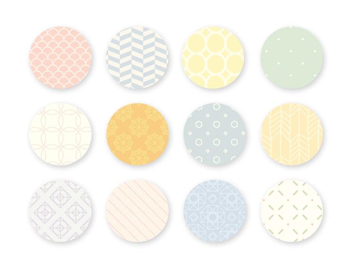 Planner Mensal 2016 - patterns | Blog Não Me Mande Flores