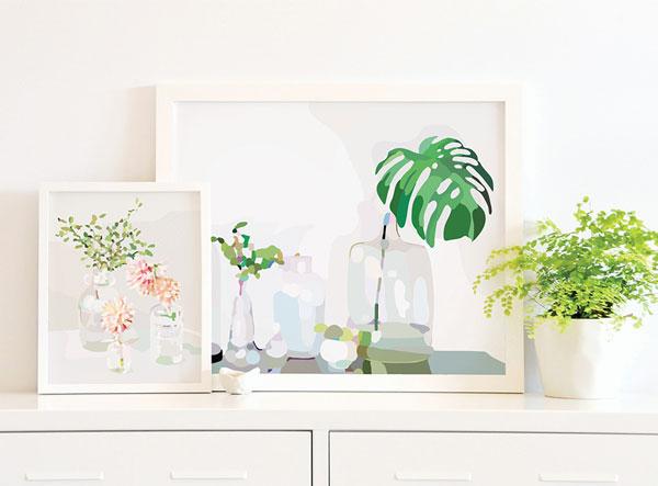 A arte digital de Kimmy Hogan | Blog Não Me Mande Flores