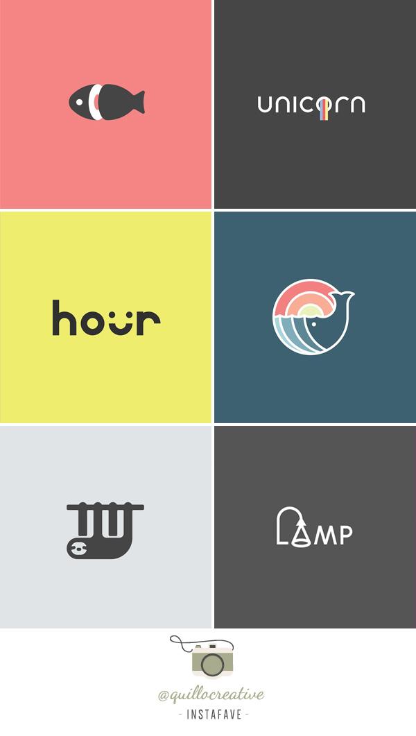 Instafave - Favoritos do Instagram: @quillocreative| Logos e Brands | blog Não Me Mande Flores