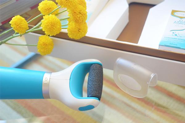 Amopé Pedi Perfect - cuidado com os pés   Esfoliador Eletrônico   blog Não Me Mande Flores