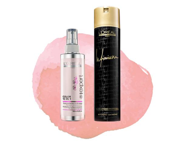 Styling de Carnaval com L'Oréal Professionnel | Color 10 in 1 + Infinium hairspray | blog Não Me Mande Flores
