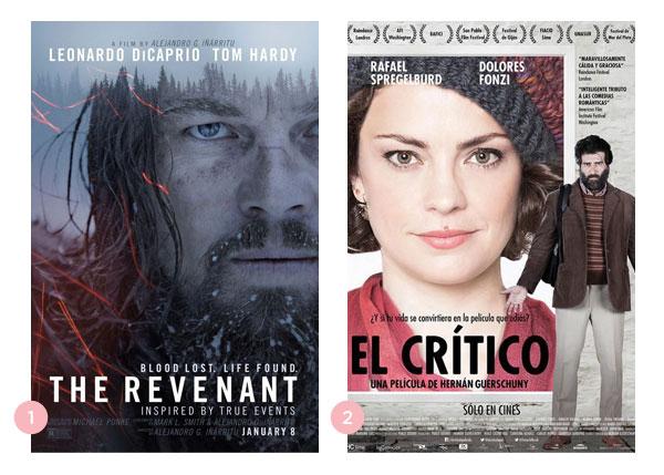 Mini-resenhas dos filmes: O Regresso (The Revenant) e O crítico (El crítico) | blog Não Me Mande Flores