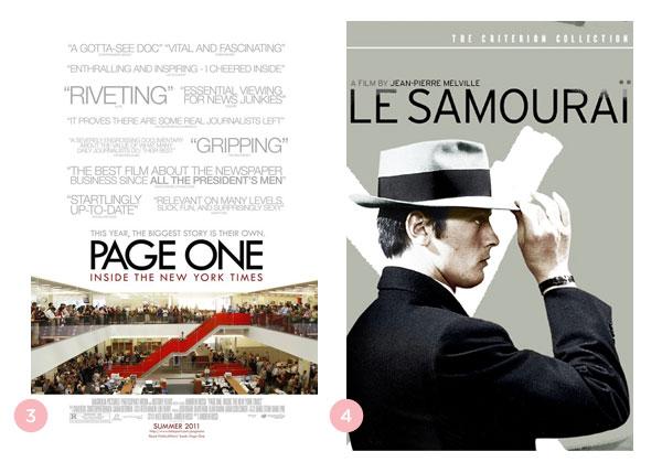 Mini-resenhas dos filmes: Page One: Inside the New York Times e O Samurai (Le samouraï) | blog Não Me Mande Flores