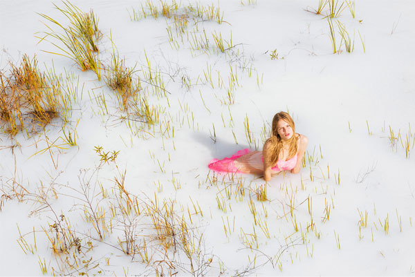 Anna Ewers por Ryan McGinley | Stern Mode SS 2016 | Styling de Julia von Boehm