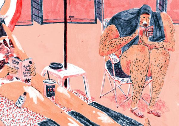 Mouni Feddag Illustration | blog Não Me Mande Flores