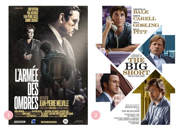 Mini-resenhas dos filmes: O Exército de Sombras e A Grande Aposta   blog Não Me Mande Flores