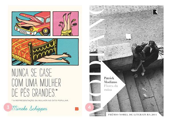 Mini-resenhas dos livros: Nunca se case com uma mulher de pés grandes e Flores da ruína