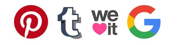 Como Creditar Imagens (e ser uma pessoa mais legal) | imagens do Pinterest, Tumblr, We Heart It, Google e outros repositores