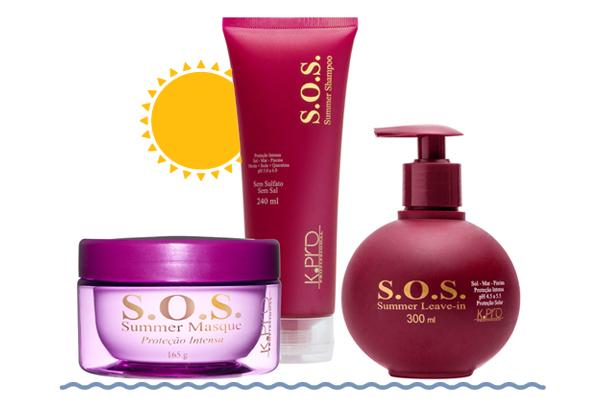 K.PRO S.O.S. Summer   Kit Tratamento