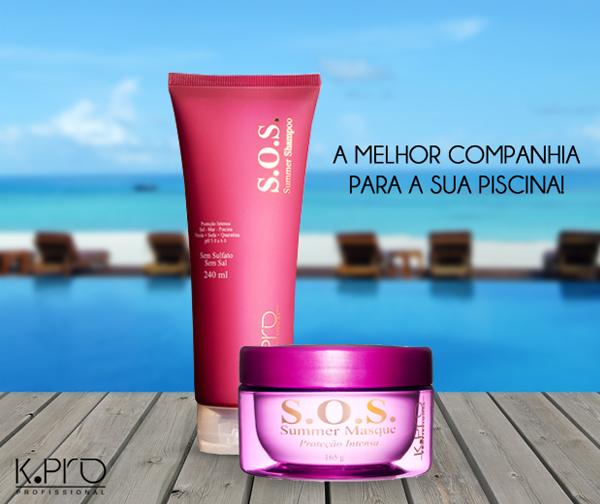 K.PRO S.O.S. Summer   Shampoo + Summer Masque