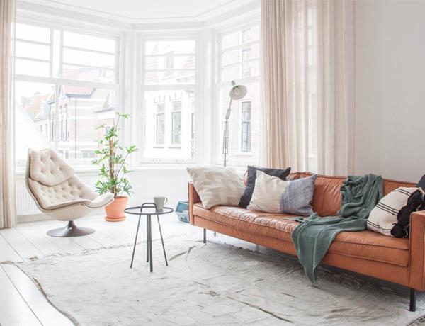 Minimal em Amsterdam | Home tour: Alexander Nijmolen bachelor pad