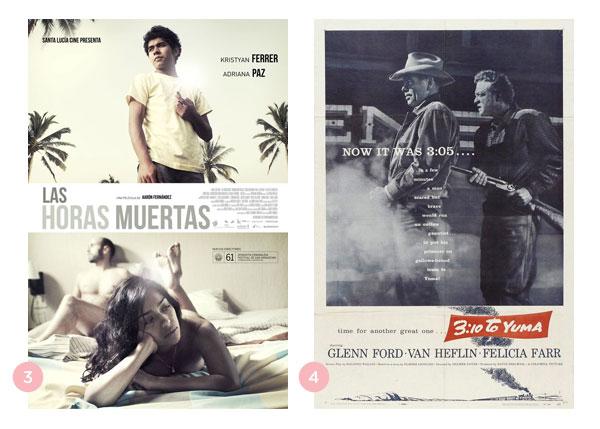 Mini-resenhas dos filmes: Las Horas Muertas e 3:10 to Yuma | Não Me Mande Flores