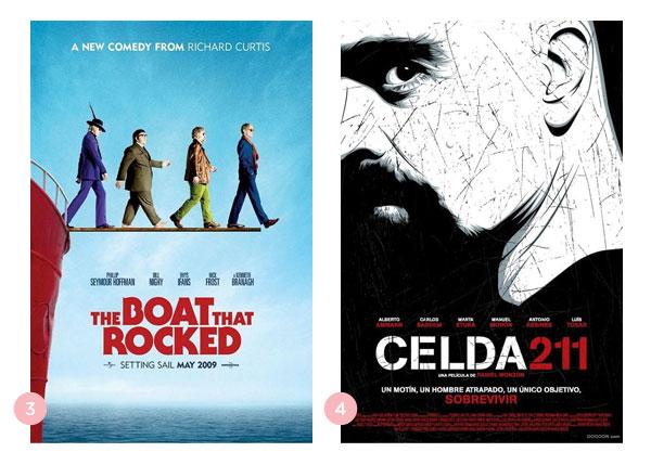 Mini-resenhas dos filmes Os Piratas do Rock e Cela 211 | Não Me Mande Flores