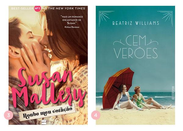 Mini-resenhas dos livros: Roube meu coração + Cem verões | Não Me Mande Flores