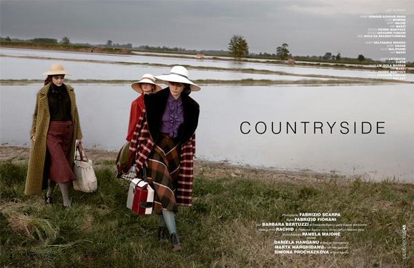 Countryside | Fabrizio Scarpa para D'SCENE magazine