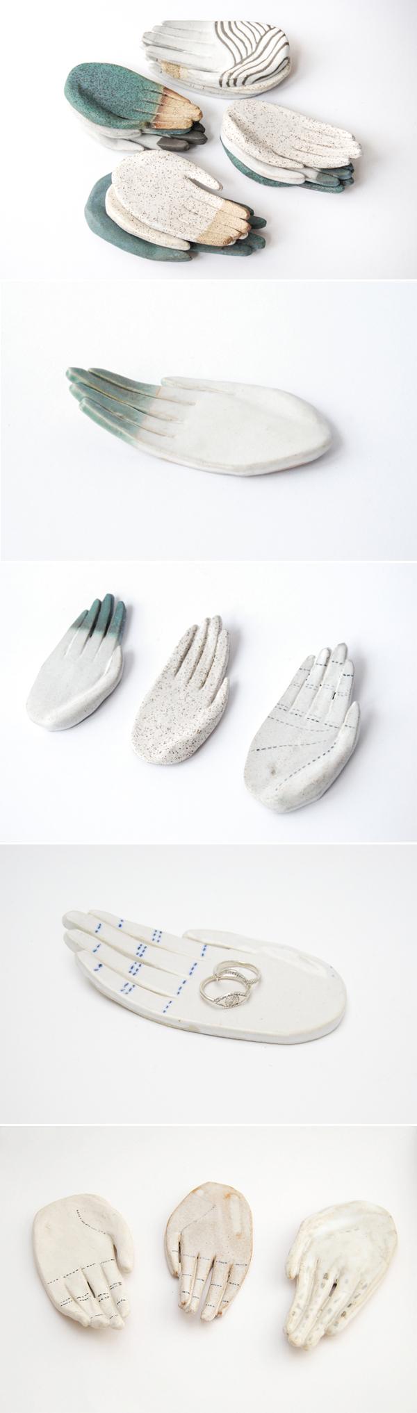 Mãos de Cerâmica da Kaye Blegvad