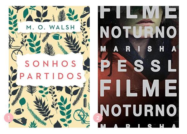 Mini-resenhas dos livros: Sonhos Partidos (M. O. Walsh) e Filme Noturno (Marisha Pessl) | blog Não Me Mande Flores