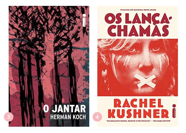 Mini-resenhas dos livros: O Jantar (Herman Koch) e Os Lança-Chamas (Rachel Kushner) | blog Não Me Mande Flores