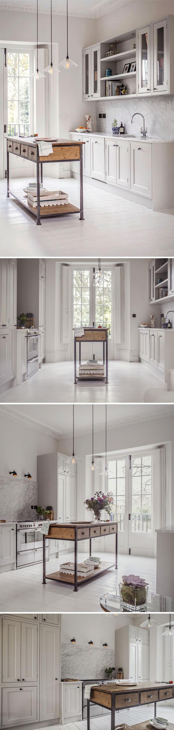 Uma cozinha linda e neutra | Design by Compass & Rose, photos by Alexis Hamilton