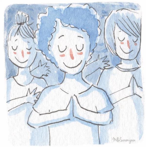 Milla Scramignon: Meditação em ações cotidianas