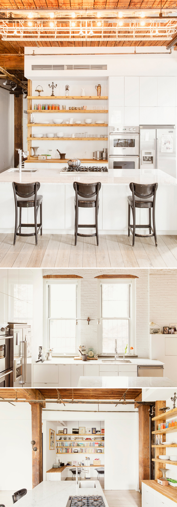 Williamsburg Loft | um projeto da Elizabeth Roberts Architecture & Design