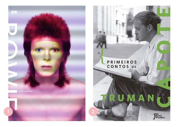 Mini-resenhas dos livros: Bowie, a biografia + Os primeiros contos de Truman Capote | Não Me Mande Flores