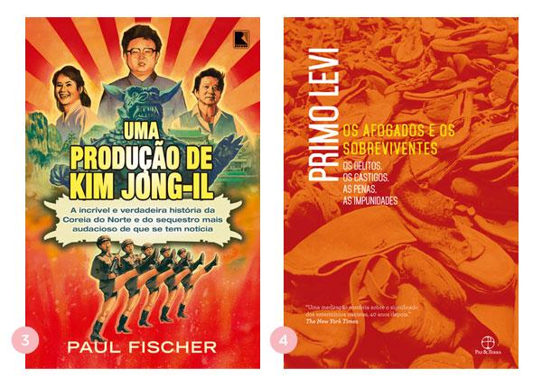 Mini-resenhas dos livros: Uma produção de Kim Jong-Il + Os Afogados e os Sobreviventes | Não Me Mande Flores