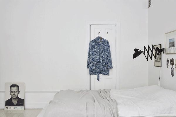 Um quarto branco | design minimalista