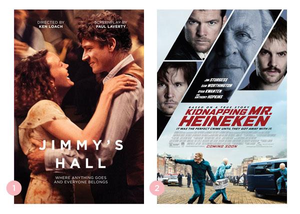 Mini-resenhas dos filmes: Jimmy's Hall e Jogada de Mestre