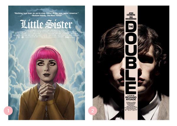 Mini-resenhas dos filmes: Irmã + O Duplo | Não Me Mande Flores