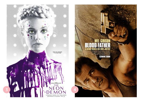 Mini-resenhas dos filmes: Demônio Neon + Herança de Sangue | Não Me Mande Flores