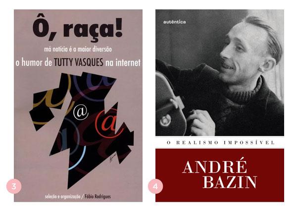 Mini-resenhas dos livros: Ô raça. Má notícia é a maior diversão e O Realismo Impossível | Não Me Mande Flores