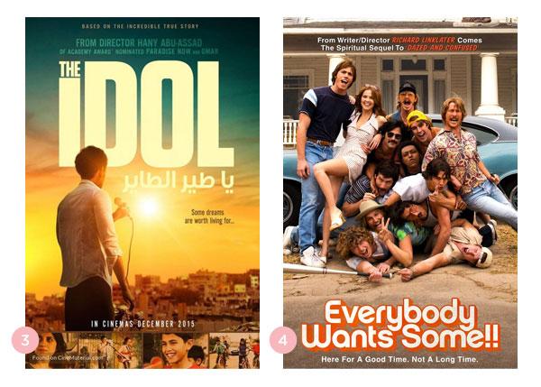 Mini-Resenhas dos filmes O Ídolo (Ya tayr el tayer) e Jovens, Loucos e Mais Rebeldes (Everybody Wants Some!!) | Não Me Mande Flores