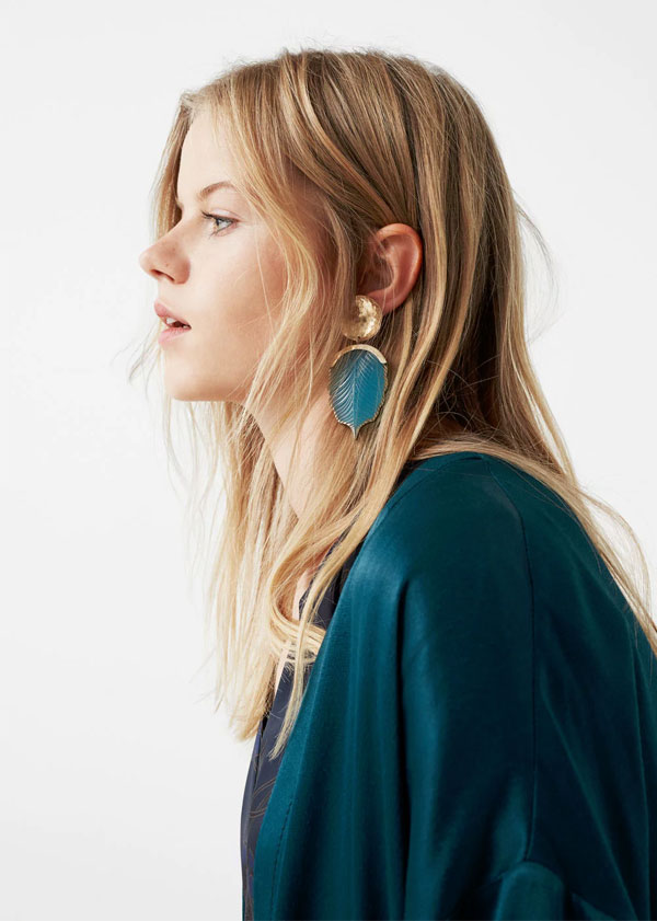 MANGO Statement Earrings | Mixed pieces earrings