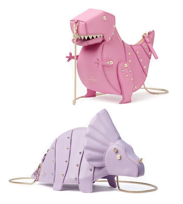 Kate Spade Whimsies T-Rex &Triceratops crossbody | Não Me Mande Flores
