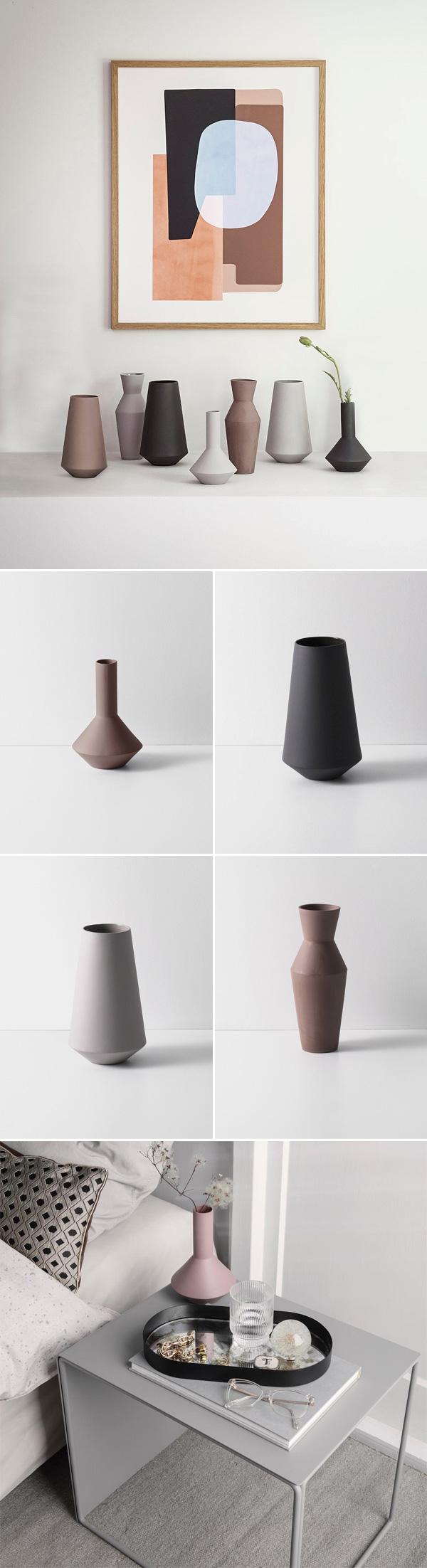 Sculpt Vases by Ferm Living | Não Me Mande Flores
